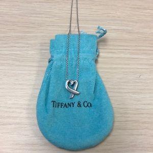 Tiffany & Co loving heart pendant
